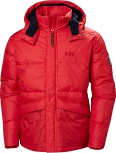 Czerwona kurtka Helly Hansen krótka w stylu casual