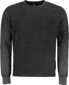 Czarny sweter Lavard w stylu casual