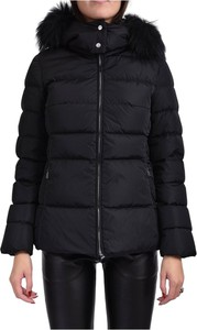 Czarna kurtka add krótka w stylu casual