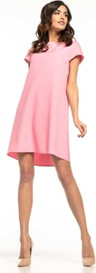 Sukienka Tessita midi z krótkim rękawem