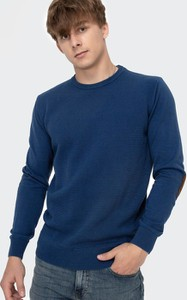 Niebieski sweter Lee Cooper w stylu casual