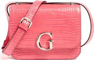 Różowa torebka Guess mała