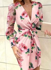 Różowa sukienka Arilook