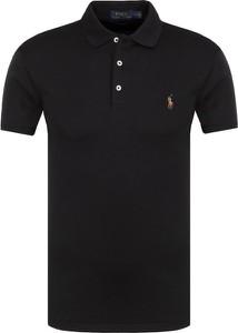 Czarna koszulka polo POLO RALPH LAUREN