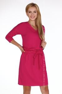 Sukienka MERRIBEL z długim rękawem z bawełny