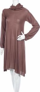 Brązowa sukienka Deerberg mini