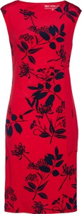 Czerwona sukienka bonprix bpc selection