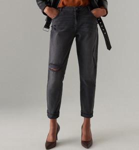 Czarne jeansy Mohito