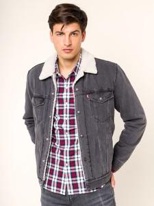 Kurtka Levis z jeansu w stylu casual