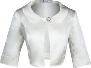 Marynarka Fokus z tkaniny w stylu glamour na guziki