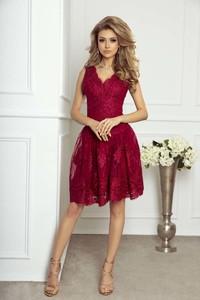 Czerwona sukienka Imesia midi bez rękawów