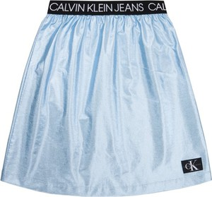 Niebieska spódniczka dziewczęca Calvin Klein