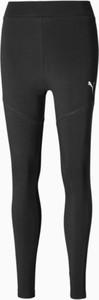 Czarne legginsy Puma z bawełny w sportowym stylu