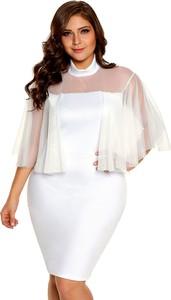 9312e9d60 sukienka biała mini - stylowo i modnie z Allani