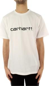 T-shirt Carhartt WIP z bawełny z krótkim rękawem