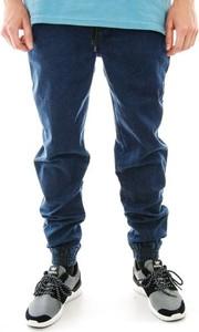 Niebieskie spodnie Nasa Hustla z jeansu