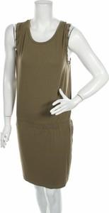 Brązowa sukienka Catwalk bez rękawów