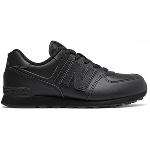 Czarne buty sportowe dziecięce New Balance sznurowane