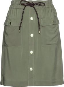 Zielona spódnica bonprix bpc selection midi w stylu casual