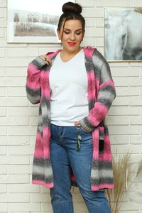 Sweter KARKO z wełny w stylu casual