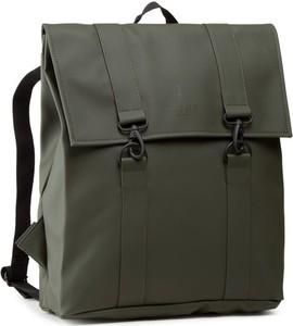 Zielony plecak Rains