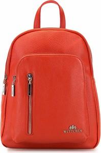 Pomarańczowy plecak Wittchen