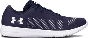 Niebieskie buty sportowe Under Armour sznurowane w sportowym stylu