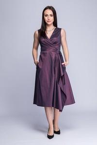 Sukienka Semper z tkaniny kopertowa