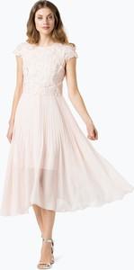 Coast - damska sukienka wieczorowa – darianna, różowy
