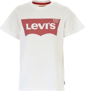 Koszulka dziecięca Levis z krótkim rękawem z bawełny