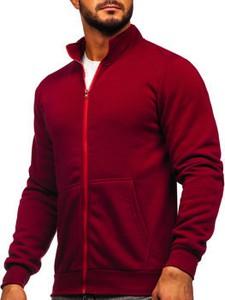 Czerwona bluza Denley z dresówki