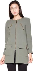 Zielony płaszcz Venaton w stylu casual