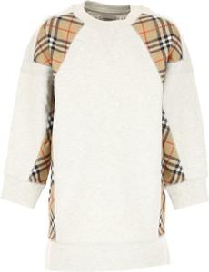 Sukienka dziewczęca Burberry z bawełny