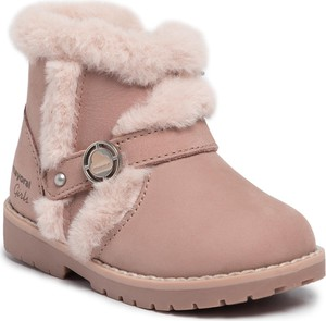 Różowe buty dziecięce zimowe Mayoral