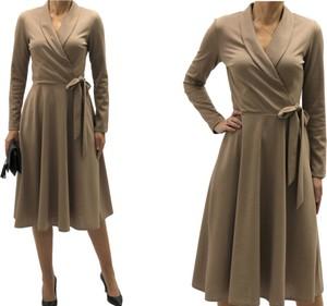 Sukienka Mm Fashion z długim rękawem