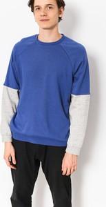 Niebieska bluza Brixton w stylu casual z bawełny