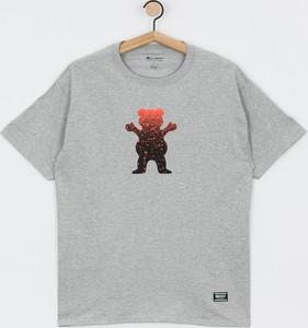 T-shirt Grizzly Griptape z żakardu