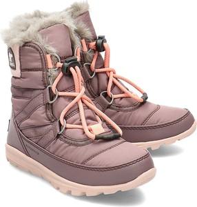 Buty dziecięce zimowe Sorel z plaru