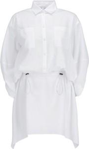 Sukienka Patrizia Pepe mini w stylu casual koszulowa