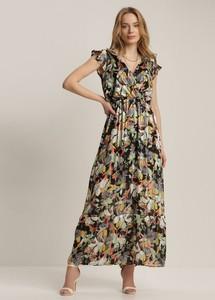 Sukienka Renee trapezowa w stylu boho