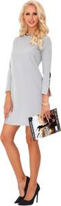 Sukienka MERRIBEL z okrągłym dekoltem w stylu casual