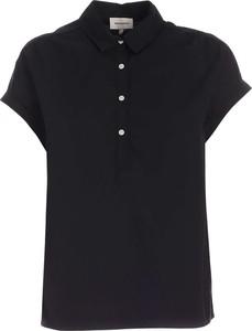Bluzka Woolrich z bawełny z krótkim rękawem
