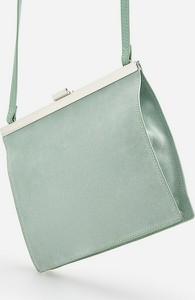 Zielona torebka Reserved na ramię mała