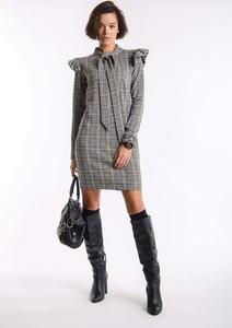 Sukienka Nommo w stylu casual mini z długim rękawem