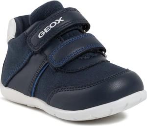 Granatowe buty dziecięce zimowe Geox