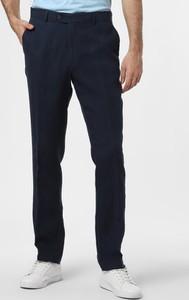 Granatowe spodnie Nils Sundström