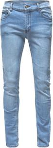 Niebieskie jeansy Cheap Monday z jeansu w street stylu