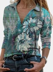 Bluzka Cikelly z dekoltem w kształcie litery v