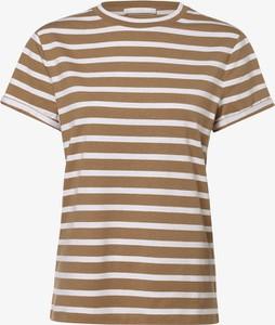 T-shirt Hugo Boss z okrągłym dekoltem z krótkim rękawem