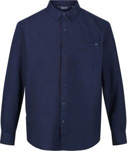 Niebieska koszula Regatta w stylu casual z klasycznym kołnierzykiem
